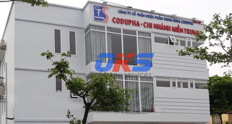 Thi công Kho bảo quản tiêu chuẩn GSP Codupha Đà Nẵng