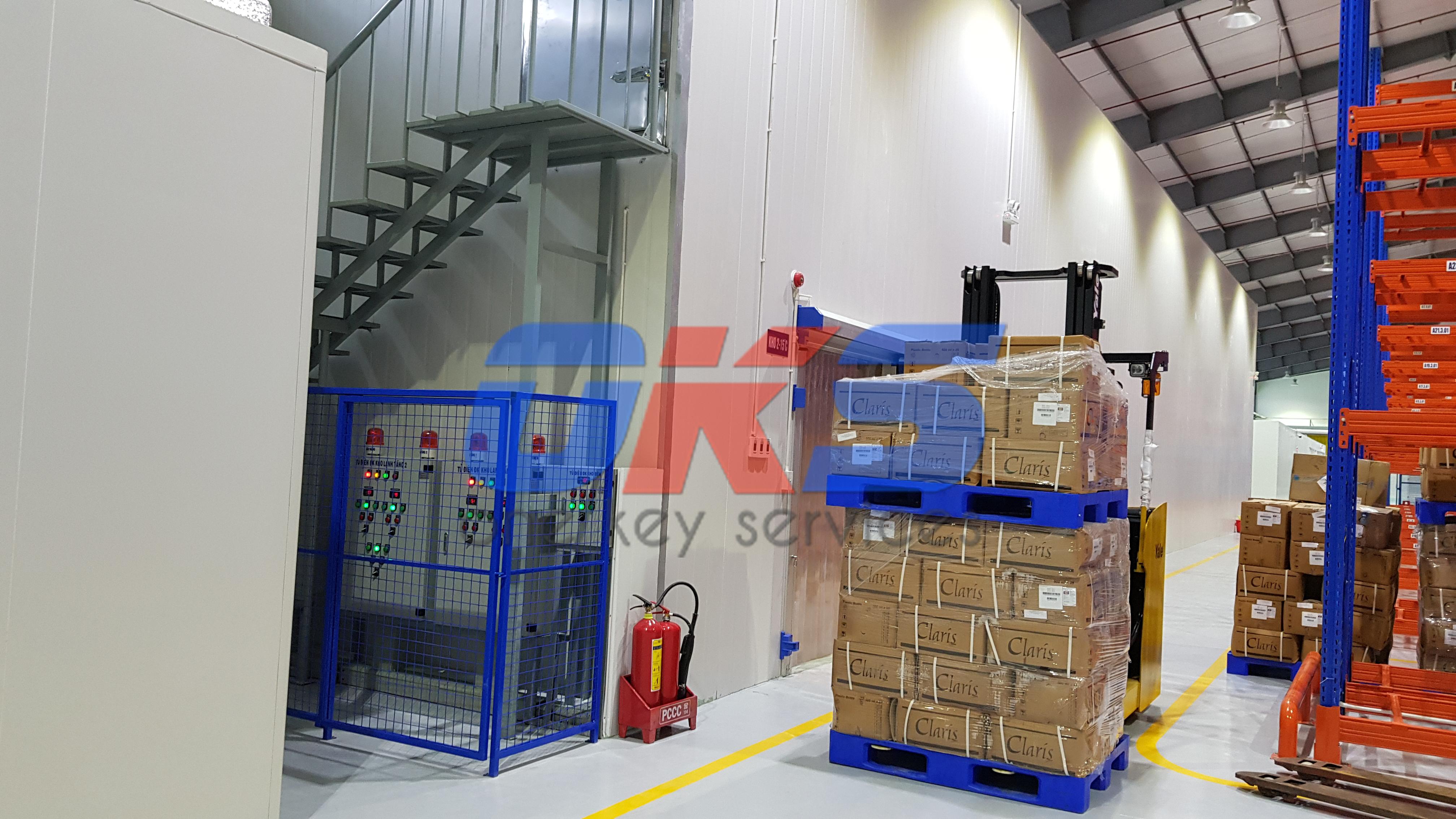 Thi công Kho bảo quản tiêu chuẩn GSP Codupha Hồ Chí Minh 3