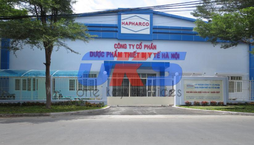 Thi công xây dựng kho GSP dược phẩm Hapharco