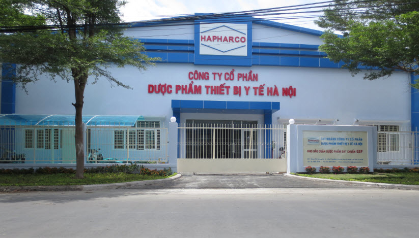 Thi công xây dựng kho GSP dược phẩm Hapharco Hà Nội