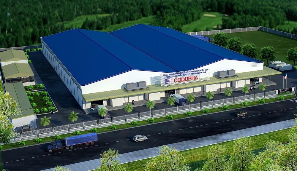 Tổng thầu thi công xây dựng và cung cấp, lắp đặt thiết bị Kho dược phẩm Codupha Lê Minh Xuân