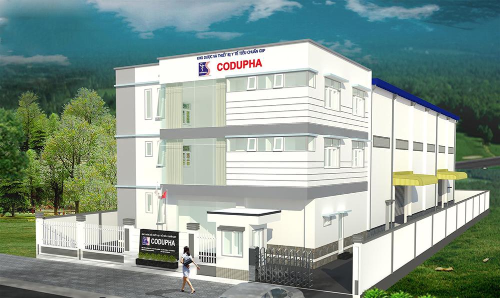 Công ty cổ phần OKS trúng thầu dự án Thi công xây dựng kho dược Codupha Đà Nẵng
