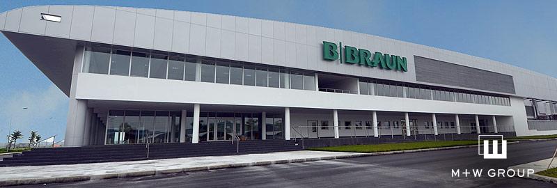 Hợp tác cung cấp thiết bị cơ khí, điện - tự động hóa cho Công ty Dược phẩm B.Braun