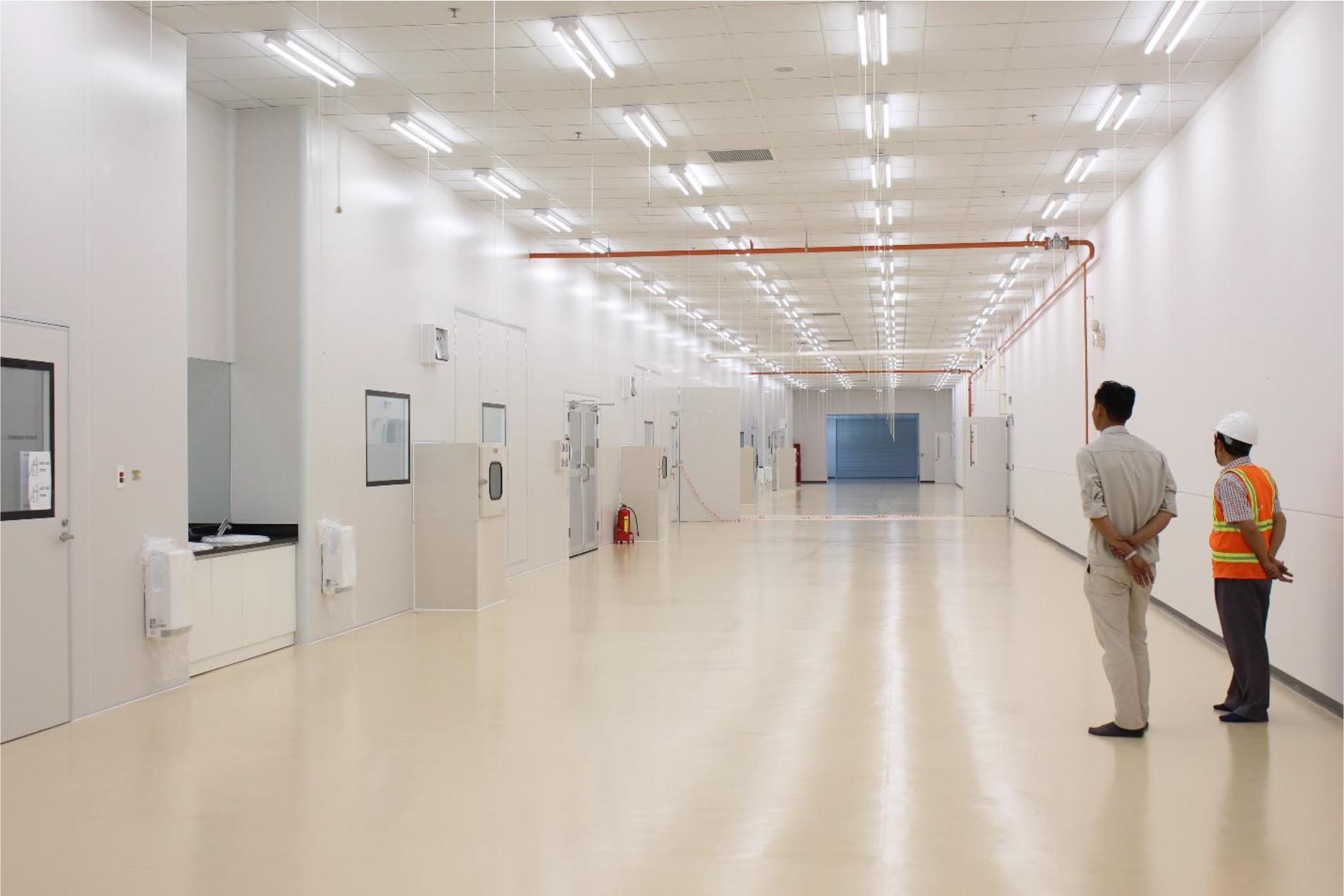 Tiêu chuẩn phòng sạch và thiết kế thi công phòng sạch
